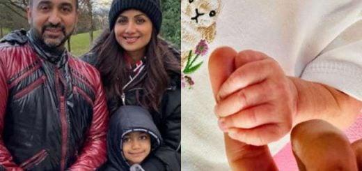 दूसरी बार शिल्पा के घर आई नन्ही परी, सोशल मीडिया पर हाथ पकड़ कर शेयर की तस्वीर