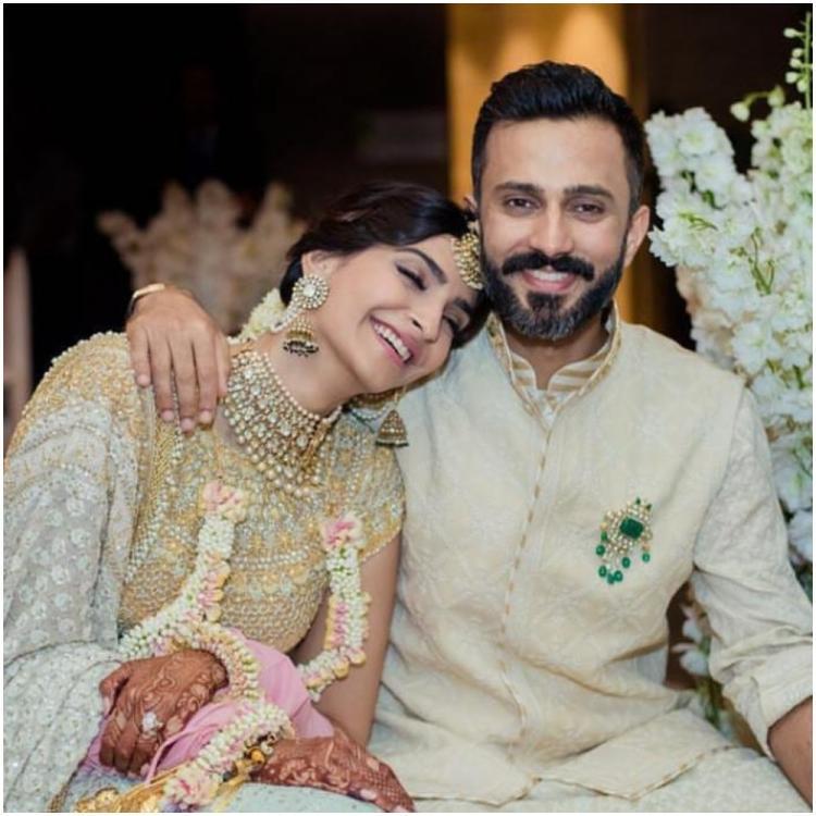 Sonam and Anand Ahuja wedding pics