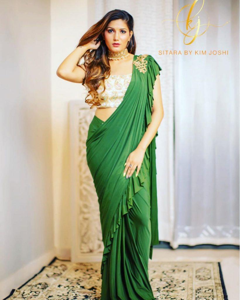 Sapna chaudhary, dancer and singer.