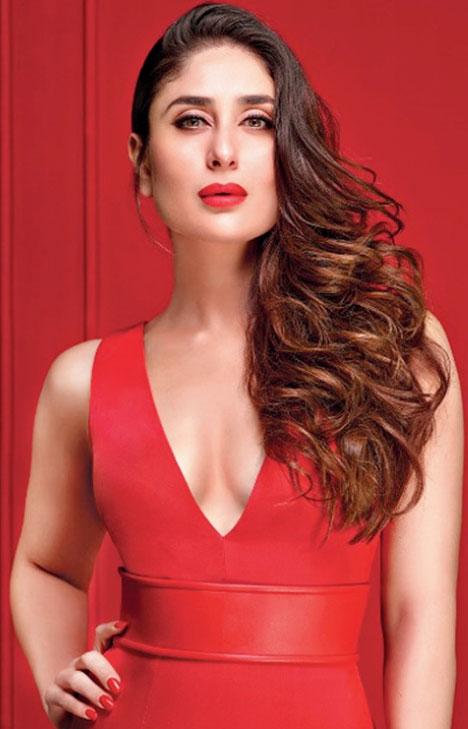 Bollywood actress kareena kapoor khan.