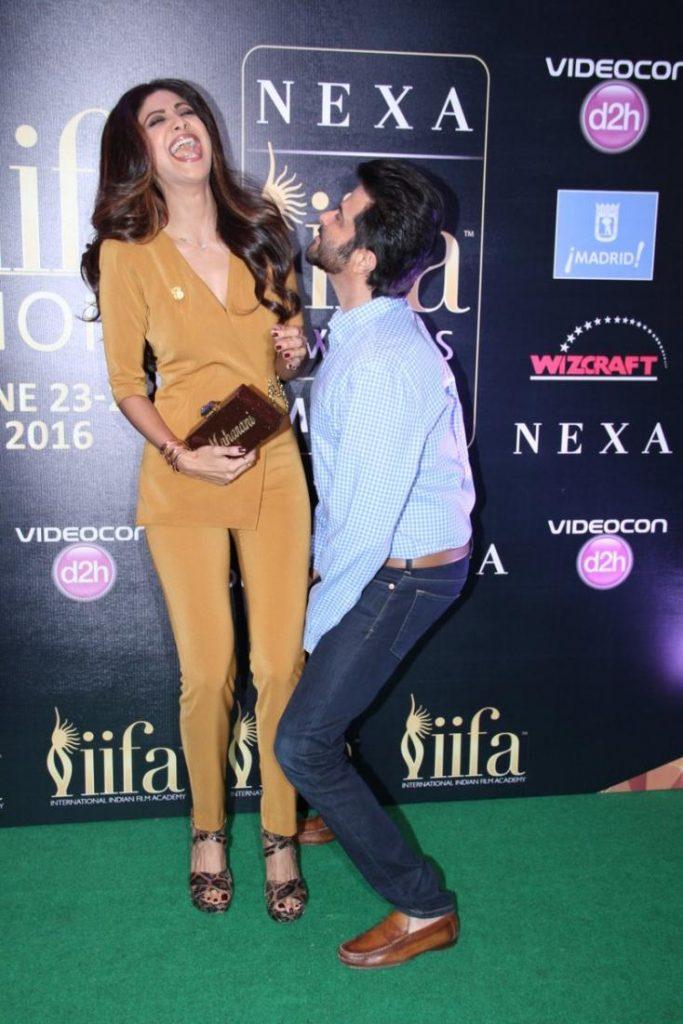 Bollywood actor Anil Kapoor, Shilpa Shetty