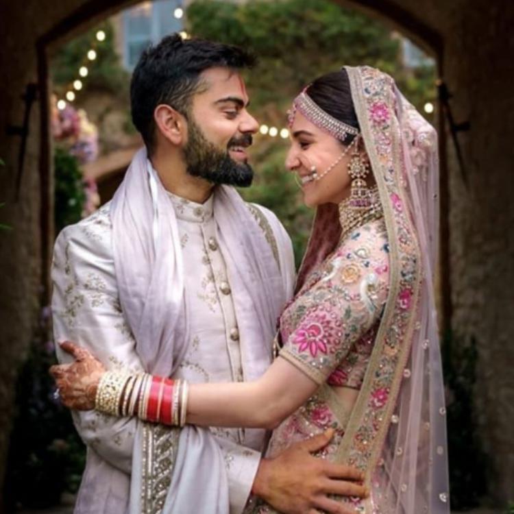 Anushka sharma virat kohli wedding pics