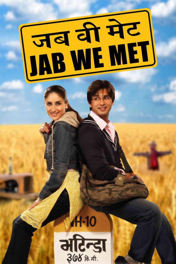 Jab We Met movie poster.