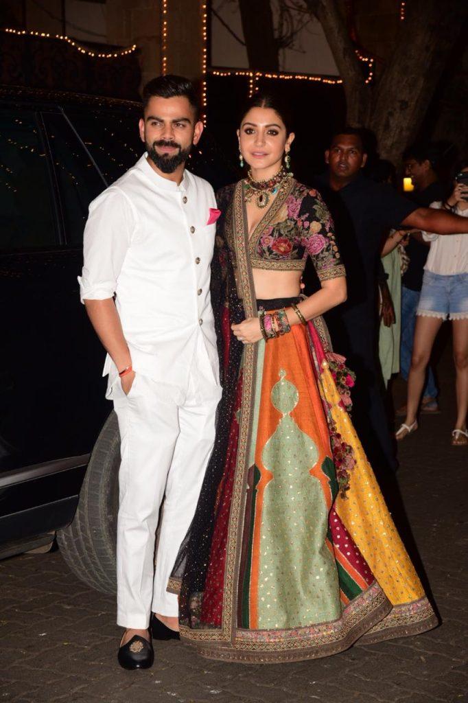 Bollywood couples Anushka Sharma, Virat Kohli.