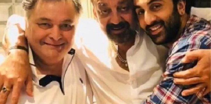 sanjay dutt and rishi kapoor