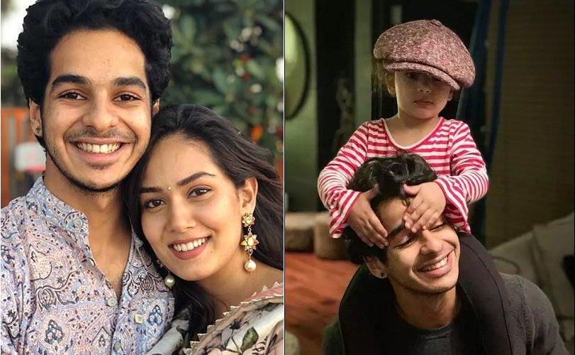 Mira Rajput and Ishaan Khatter