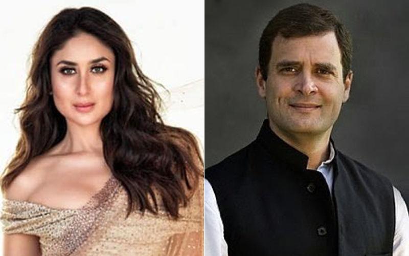 Rahuk Gandhi and Kareena Kapoor