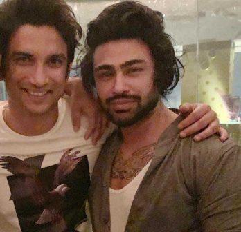 Sushant Singh Rajput and Arian Romal