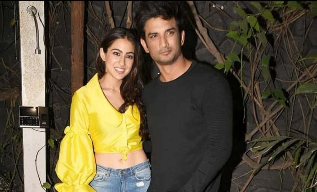 Sara Ali Khan and Sushant