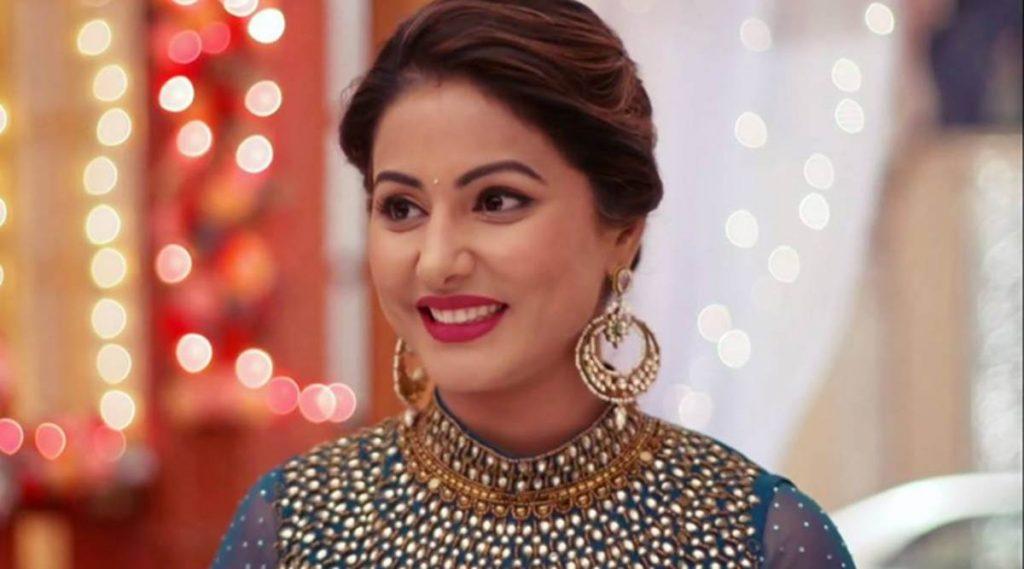 Hina Khan show