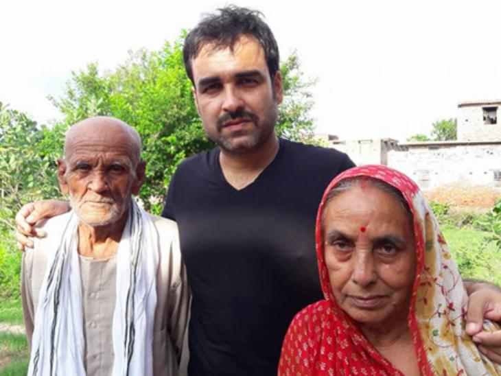 Pankaj Tripathi parents
