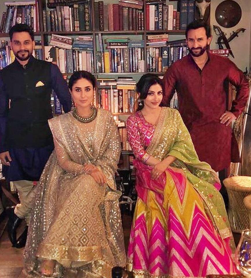 The royal couple of B-Town Kareena Kapoor - Saif Ali Khan ...